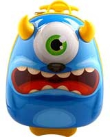 Monster Trolley Backpack Case - Bouncie Cuties