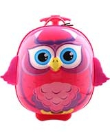 Owl Trolley Backpack Case - Bouncie Cuties