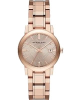 Ladies' Watch The City Engraved Check - Burberry
