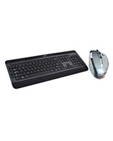 Multimedia Keyboard + 5D Laser Cordless Mouse BX8900 - Yes Original