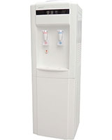 2 Taps Hot & Cold Water Dispenser BY-110A White - Bergen