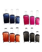 Travel Bag Fiber Ribbed Set - Energy