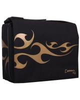 "Messanger Bags fits up to 15.6"" Laptops  BG123 Golden fire - L'avvento"