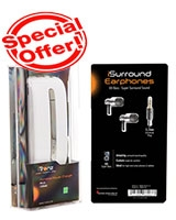 Buy  Portable Power Charger 5200 white +iSurround Eraphone - iTronz