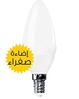 LED Candle C35 E14 6W Warm White - Noorina