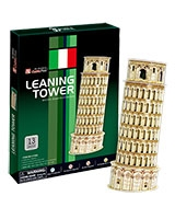 Leaning Tower 3D Puzzle 13 Pieces - Cubic Fun