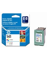 HP 141 Tri-colour Inkjet Print Cartridges (CB337HE)