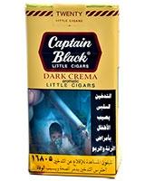 Dark Crème 20 Little Cigars - Captain Black