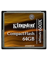 Compact Flash Ultimate 600X 64GB CF-64GB-U3 - Kingstone