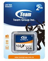 CF Card 2GB - 133X TCF2G13301 - Team