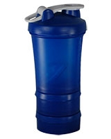 Protein Powder Shaker 600ml Blue CHK-45 - Energy