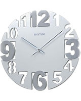 Wall Clock CMG767NR03 - Rhythm