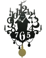 Wall Clock CMP533NR02 - Rhythm