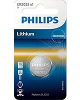 Minicells Battery Lithium CR2025 - Philips