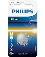Minicells Battery Lithium CR2032 - Philips