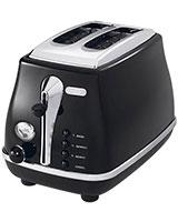 2 Slices Toaster Icona CTO 2003.BK - Delonghi