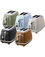 Icona Vintage 2 Slice Toaster - Delonghi