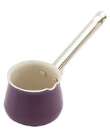 Royal Purple Coffee Pot with Stainless Stain Handle - Nouval
