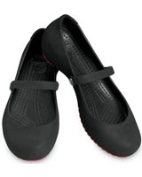 Alice Suede Black/Black - Crocs