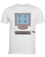 T-Shirt Cupyar White Short Sleeves - Tarboush