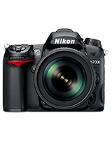 Digital SLR Camera 16.2 Megapixels D7000 - Nikon + Bag + Lens 18-55 VR + Lens 70-300 + Speedlight SB400