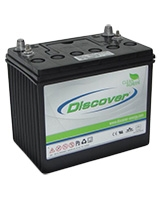 Cyclic AGM Battery Block 12V 100 Ah D121000BD - Discover Energy
