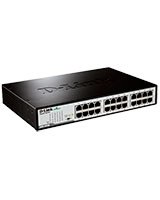 24-Port Gigabit Unmanaged Desktop Switch DGS-1024D - D-Link
