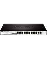24-Port 10/100/1000Base-T with 4 SFP Smart Switch DGS-1210-28 - D-Link