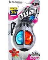 Air Freshener Dual Fresh Tropical - Power Air