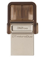 DataTraveler microDuo USB 2.0 Flash Drive 32GB - Kingston