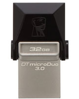 DataTraveler microDuo USB 3.0 Flash Drive 32GB - Kingston