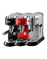 Coffee Maker Pump Espresso Dedica Red EC 680 - Delonghi
