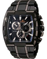 Edifice Gold Label chronograph watch EFX-520BK-1AV  - Casio