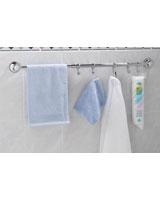 Towel Rail With 5 Hooks 50 Cm - Everloc