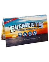 Rolling Papers Single Wide - 100 Leaves - Elements