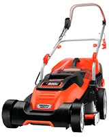 Electric Rotary Lawnmower with Compact&Go 1800W EMAX42I - Black & Decker