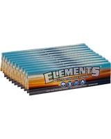 Rolling Papers Ks Slim 10 Packs x 33 Leaves - Elements