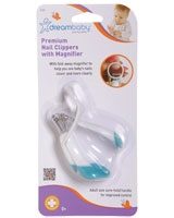 Premium Nail Clippers With Magnifier F355 - Dream Baby