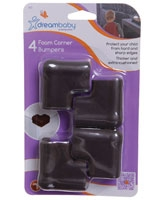 Foam Corner Bumpers 4 Pieces - Dream Baby
