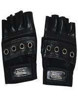 Gym and Cycling Gloves And Mitts Black FHB-410 - Energy