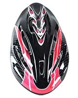 Adult Helmet Red/Black FHM-41 - Energy