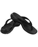 Women's Capri IV Black/Black Flip 11211 - Crocs