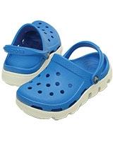 Kids' Duet Sport Ocean/White Clog 11992 - Crocs