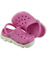 Kids' Duet Sport Party Pink/Oyster Clog 11992 - Crocs