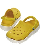 Kids' Duet Sport Party Yellow/Oyster Clog 11992 - Crocs