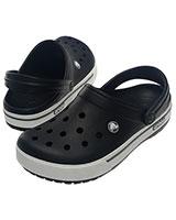 Unisex Crocband II.5 Black/Charcoal Clog 12836 - Crocs