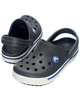 Kids' Crocband II.5 Charcoal/Sea Blue Clog 12837 - Crocs