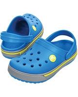 Kids' Crocband II.5 Ocean/Citrus Clog 12837 - Crocs