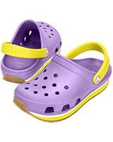 Kids' Retro Neon Iris/Sunshine Clog 14006 - Crocs
