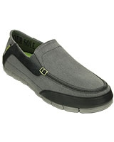 Men's Stretch SoleTorino Graphite/Black Loafer 201211 - Crocs